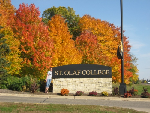 St. Olaf in the Fall