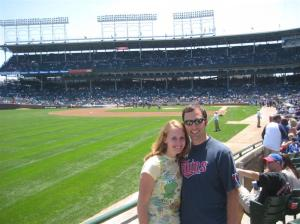 Twins @ Cubs at Wrigley