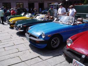 MG car show